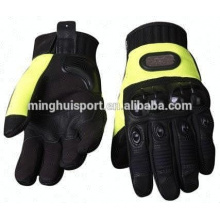 Top quality Motorcycle Leather Short Gloves/Leather short racing gloves,
