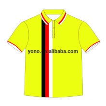 Camiseta de polo 2017 de la sublimación de la impresión modificada para requisitos particulares lastest para los hombres