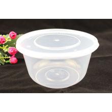 1000ml de plástico microondas contenedor de alimentos para llevar caja rectangular desechable