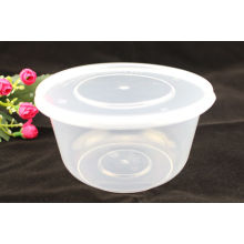1000ml plástico microondas recipiente de alimentos takeaway descartáveis caixa retangular
