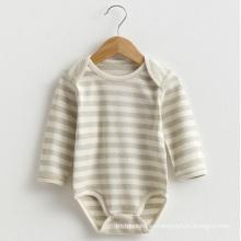 Nuevo diseño lindo mameluco de manga larga para bebé