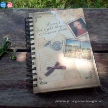 Spiral Binding / School / Diary / A5 Hardcover Notebook (BX0403)