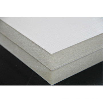 Paneles de sándwich de espuma FRP de aislamiento térmico de 20 mm