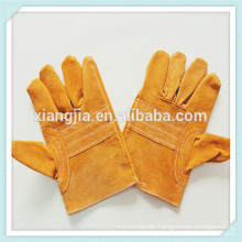 Safety work cow split leather car driving gloves ,Mens Full palm Wearable Cow Split Leather Safety Glove with CE
