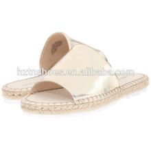 Ladies Summer Sandals Photo 2016 Latest Women Espadrille Flat Casual Sandal Shoes