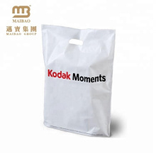Full Color Printing Coverage Custom Printed Die Cut Handle Plastic Retail Bags
