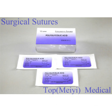 Rapid Polyglykolsäure Chirurgische Naht mit Nadel