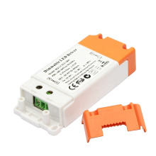 boqi triac dimmable led driver 42v 400ma 18w dimming led driver with CE SAA
