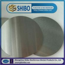 Prestigious Molybdenum Discs, 99.95% Pure Molybdenum Discs