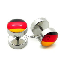 316L Surgical Stainless Steel 10mm Fake Ear Piercings
