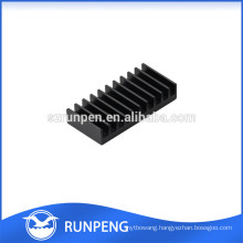 OEM 6000 series clear anodise extruded heatsink