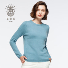 Kvinnors Cashmere Crew Neck Sweater