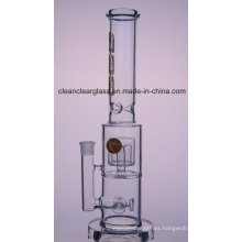 Wholesale High Quality Thick Glass Bon Glass Water Pipe with Flower