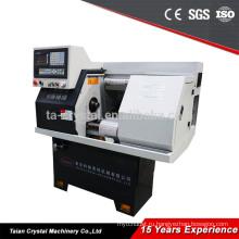 низкая стоимость полу-manualCK0640A китайский токарный станок с ЧПУ для резки металла