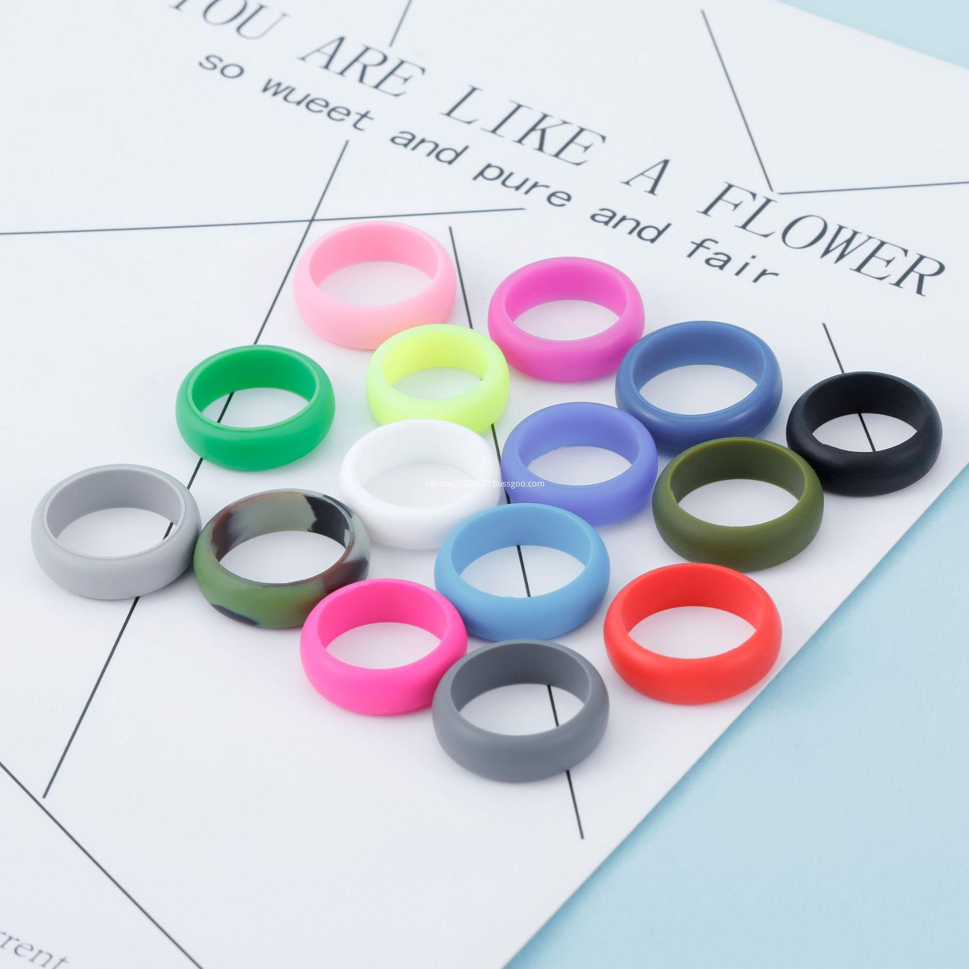 silicone finger ring vape band