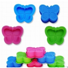 Moule à gâteau en forme de papillon en silicone (SE-296)