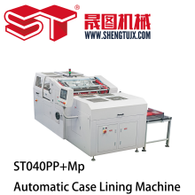 Automatic Magnet Pasting Case Lining Machine