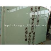 Acid Etched Glass