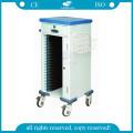 AG-CHT010 ABS nursing record hospital file trolleys cart