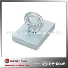 NdFeB Imán rectangular del anillo circular de Eyebolt imanes