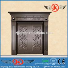 JK-C9030 бронзовая коммерческая дверь, бронзовая наружная дверь, бронзовая дверь