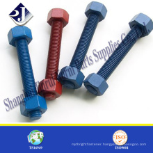 best price grade astm a307 zinc plated hex bolt