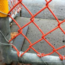 Clôture temporaire enduite de PVC de haute qualité de la Nouvelle-Zélande 1m * 1.2m