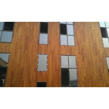 Panneaux muraux extérieurs en cèdre rouge Wester naturel