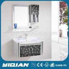Meuble de miroir miroir simple meuble de salle de bains en acier inoxydable
