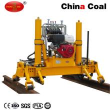 Máquina hidráulica de elevación y revestimiento de rieles