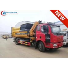 Recién llegado FAW 12cbm Waste Hauler Truck