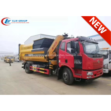 Nova Chegada FAW 12cbm Waste Hauler Truck