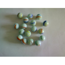 16mm 25mm milky glass marbles