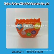 Керамическая ваза для декорации из кролика