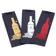 Custom Red wine carrier bags & Totes