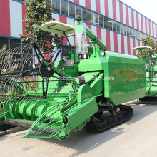 High Performance for Full-Feeding Rice Combine Harvester 330mm Min.ground clearance combine harvesting rice machinery export to Swaziland Factories
