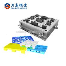 Molde de paletas de plástico, diseño de moldes de inyección de productos básicos, molde de paleta de plástico