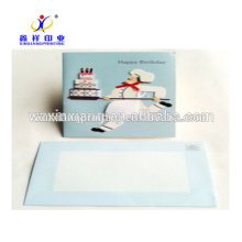 Bulk New Design Lovely Happy Birthday Greeting Cards For Storage