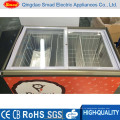 Супермаркет Стеклянного Комода Двери Тип Морозильник От Мороженого