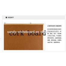 Solid wooden frame photo wall hung pin board