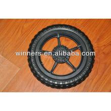 Baby stroller wheel 12 inch rear wheel with brake