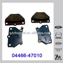 Venta caliente TOYOTA COROLLA piezas de freno de disco Pad 04466-47010