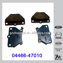Hot Sale TOYOTA COROLLA Parts Disc Brake Pad 04466-47010