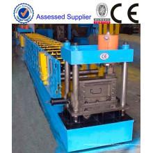 Marco de la puerta de China rodillo formando los marcos de puerta de acero de máquina fabricación de marco de puerta metálica de la máquina roll formando equipo para la venta