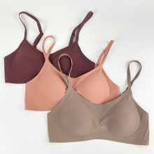 Women's Wire Free Jelly Supportive Seamless Bra