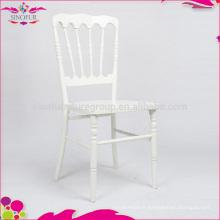 Chaises en bois de chaise en cuir