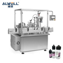 Automatic CBD oil filling machine 10ml 30ml e-liquid perfume round bottle filling machinery