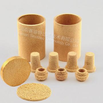 Bronze  Powder Sintered Filter Element And Disc