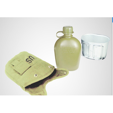 Saco tático com garrafa de água de 1 litro