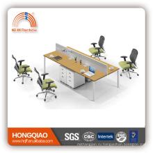 (МФЦ)Пт-02 компьютерный стол рабочей станции офиса исполнительный деревянный стол офиса панели меламина офисный стол